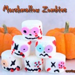 Marshmallow Zombies and Happy Halloween