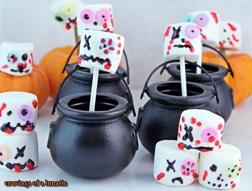 marshmallow zombies