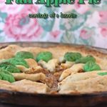Fall Apple Pie | #HelpingHands | #SundaySupper