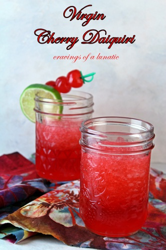 Cherry Daiquiri | Cravings of a Lunatic | #beverage #drink #cherry