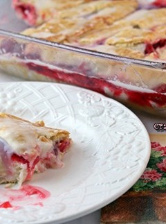 Cherry Danish Dessert: Guest Post for Cookistry
