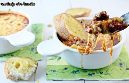 Lasagna Soup by Cravings of a Lunatic