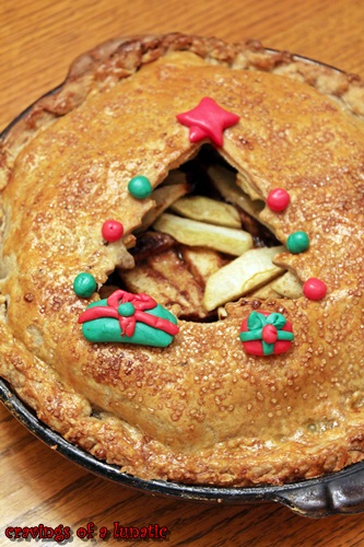 Apple Pie is a holiday classic. This recipe takes it to the next level with decorations on the pie crust!