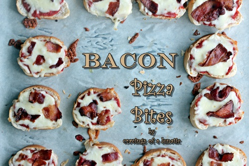 Bacon Pizza Bites
