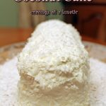 Christmas Coconut Cake for Day 3 of #ChristmasWeek
