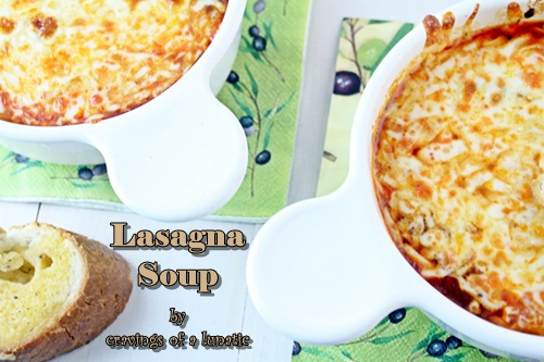 Lasagna Soup by Cravings of a Lunatic