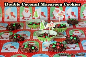 Double Coconut Macaroon Cookies by Cravings of a Lunatic