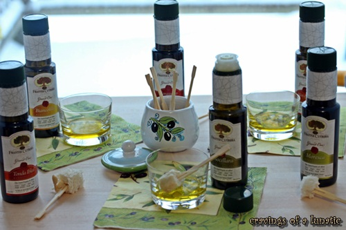 Olive Oil Tasting Party