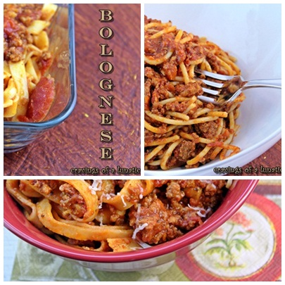 Bolognese Sauces by Cravings of a Lunatic