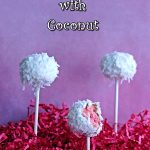 Coconut Cherry Cake Pops 5