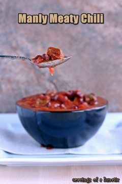 Manly Meaty Chili | Slow Cooker Saturdays
