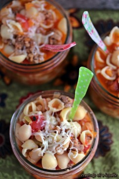 Pasta e Fagioli from cravingsofalunatic.com- Simple and quick soup recipe! Chock full of flavour, this is comfort food at its finest. (@CravingsLunatic)