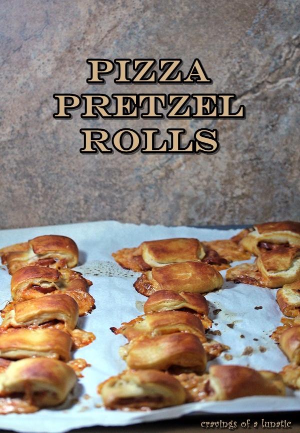 Pizza Pretzel Rolls