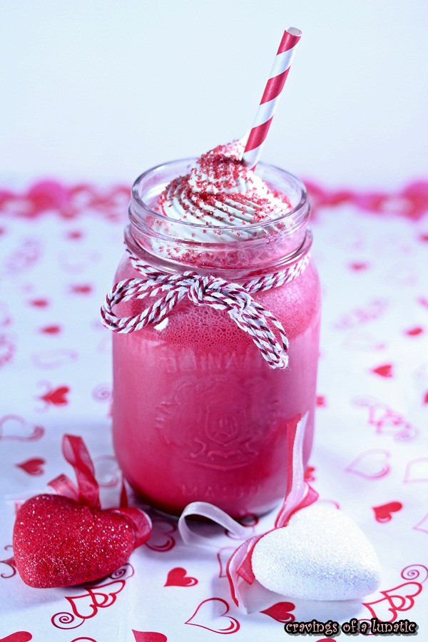 Red Velvet Milkshake via Cravings of a Lunatic