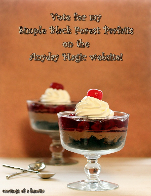 Black Forest Parfaits by Cravings of a Lunatic