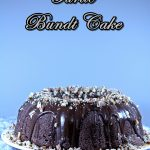 Chocolate Turtle Bundt Cake #Bundtamonth