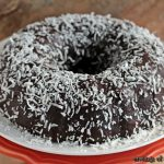 Chocolate Coconut Bundt Cake | #BundtaMonth