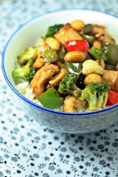 Kung Pao Chicken is a simple and quick chicken stir fry recipe. It's packed with flavour but remarkably easy to make.