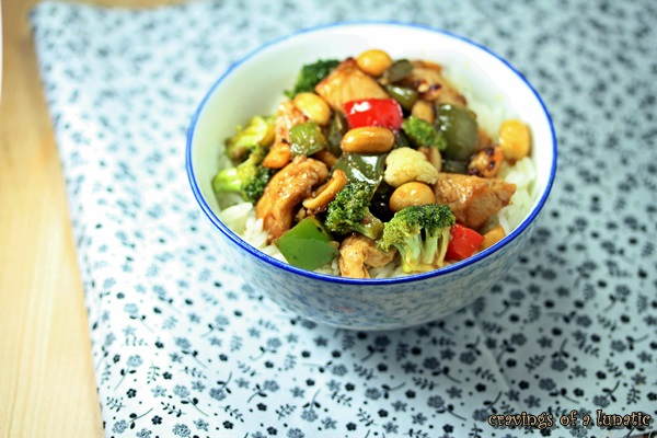 Kung Pao Chicken by Cravings of a Lunatic