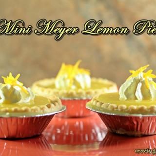 Mini Meyer Lemon Pies by Cravings of a Lunatic