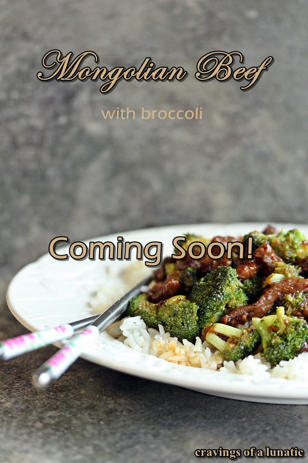 Beef Stir Fry by Cravings of a Lunatic Coming Soon