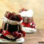Black Forest Mini Bundt Cakes #Bundtamonth