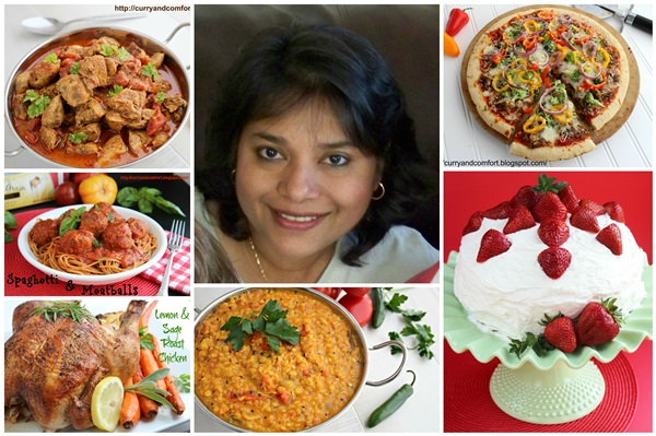 Curry and Comfort Recipes and Profile Pic