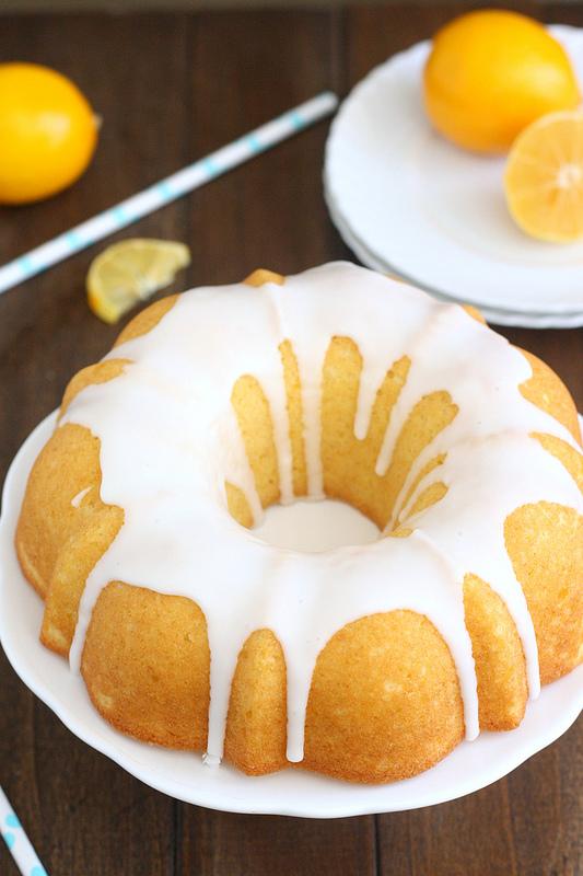 Glazed Meyer Lemon Buttermilk Bundt Cake