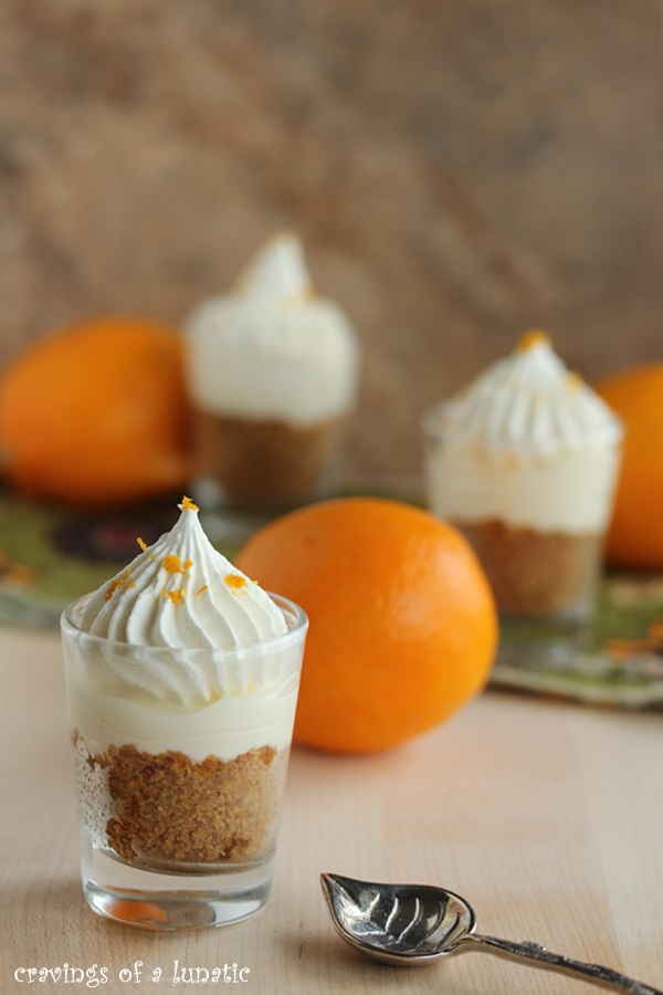 Meyer Lemon Cheesecake Shots