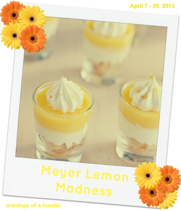 Meyer Lemon Parfaits by Cravings of a Lunatic