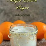 Meyer Lemon Sugar