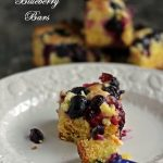 Meyer Lemon and Blueberry Bars