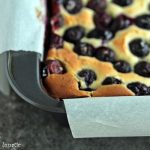 Lemon and Blueberry Bar