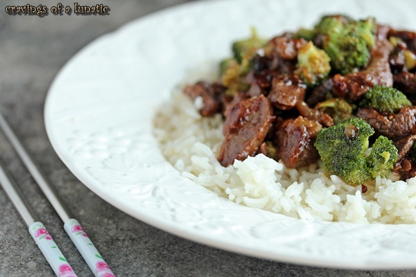 Mongolian Beef with Broccoli