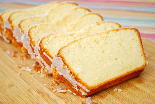 Sour Cream & Meyer Lemon Pound Cake