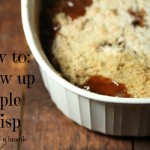 Mom's Apple Crisp | Happy Mother's Day #SundaySupper