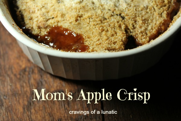 Mom's Apple Crisp by Cravings of a Lunatic