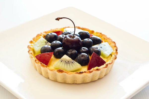 Custard Fruit Tart by Strands of my Life | Afternoon Tea E-book