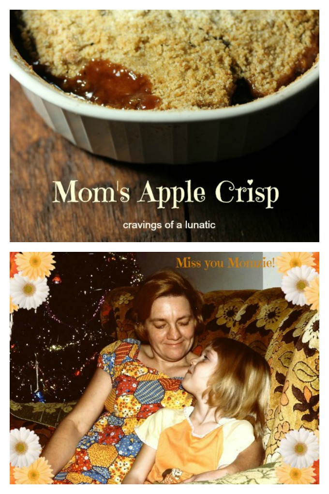 Mom's Apple Crisp from cravingsofalunatic.com- The best apple crisp in the world. It's pure comfort food at its finest!
