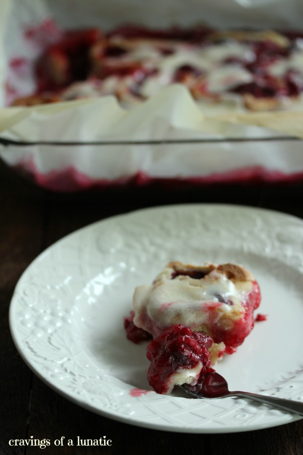 Raspberry Sweet Rolls by Cravings of a Lunatic