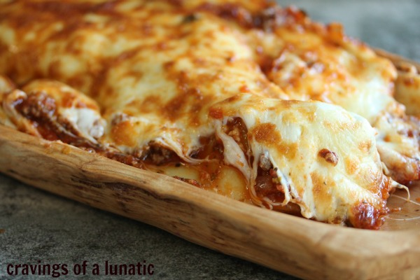 Spicy Lasagna by Cravings of a Lunatic