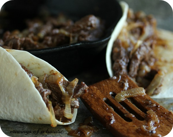 Spicy Steak Fajitas