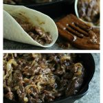 Spicy Steak Fajitas with Caramelized Shallots and Onions