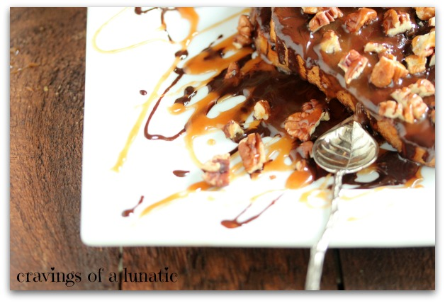 Turtles French Toast by Cravings of a Lunatic