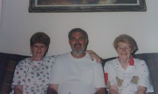 My Aunt Barb, my Dad and my Aunt Donna.