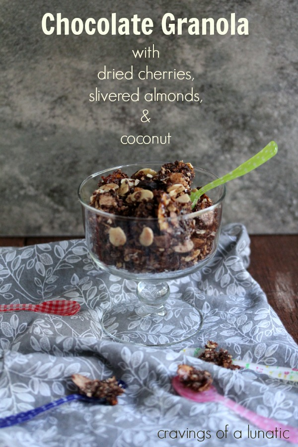 Chocolate Granola by Cravings of a Lunatic