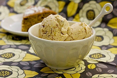 Maple Pecan Ice Cream by Savvy Eats
