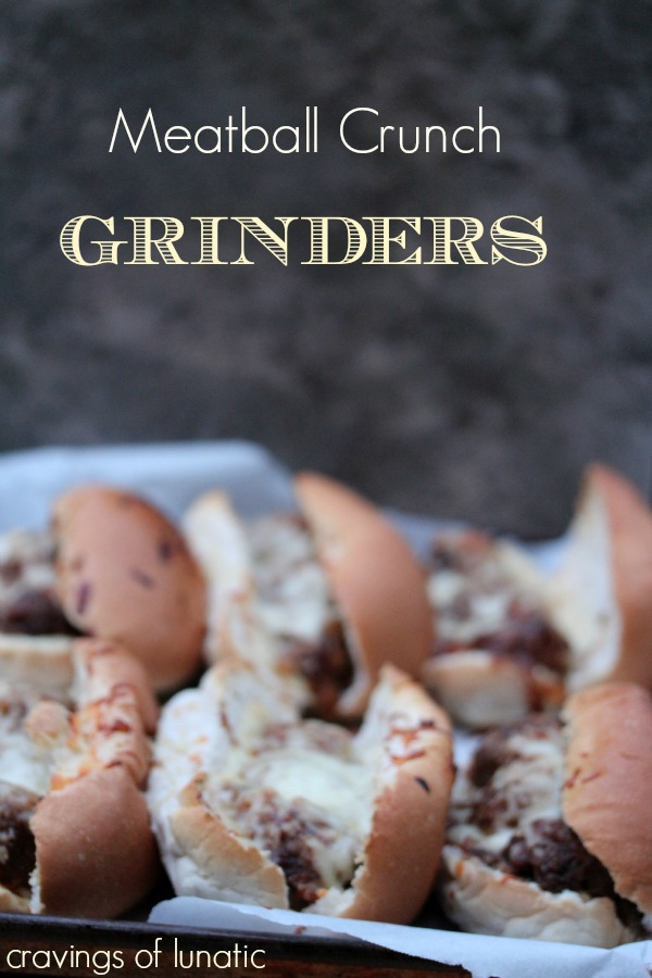 Meatball Crunch Grinder by Cravings of a Lunatic