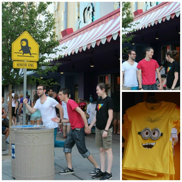 Universal Studios- Silly Minions
