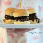 Whiskey Sliders and a Note for Hubs for Fathers Day